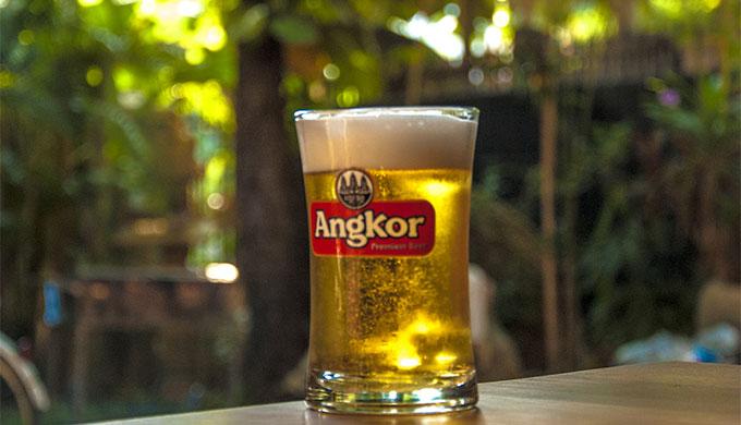 カンボジアのアンコールビール