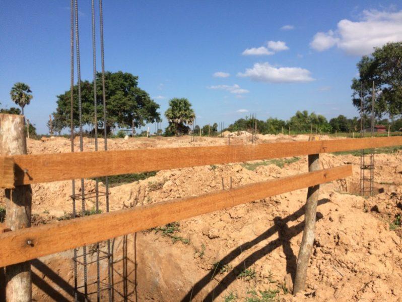 建設現場の様子