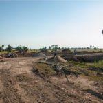 カンボジアの学校建設地19日目の様子