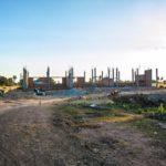 カンボジアの学校建設地33日目の様子