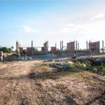 カンボジアの学校建設地35日目の様子