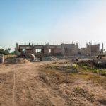 カンボジアの小学校建設地39日目の様子