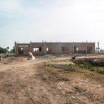 カンボジアの学校建設地40日目の様子