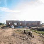 カンボジアの学校建設地43日目の様子