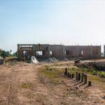 学校建設地46日目の様子