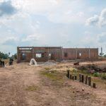 カンボジアの学校建設地47日目の様子