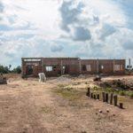 カンボジアの学校建設地48日目の様子