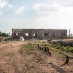 カンボジアの学校建設地53日目の様子