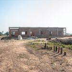 カンボジアの学校建設地54日目の様子