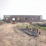 カンボジアの学校建設地60日目の様子
