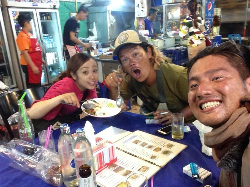 タイの夜の街