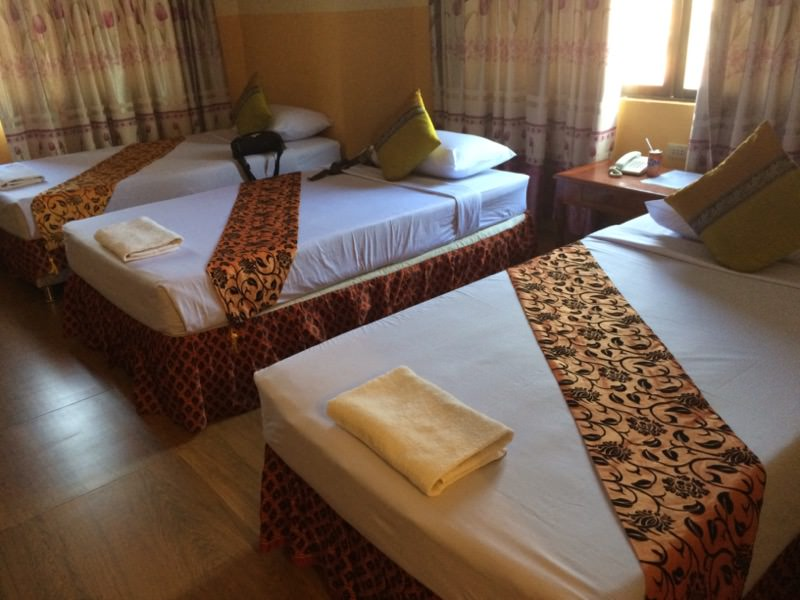 ポイペトのホテルの室内