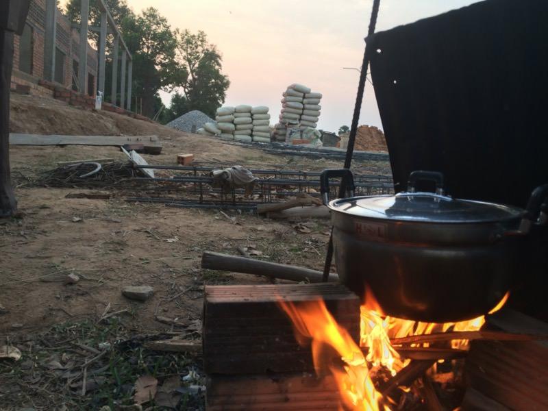 晩ご飯の準備