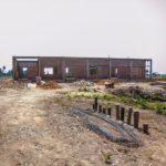 カンボジアの学校建設地61日目の様子