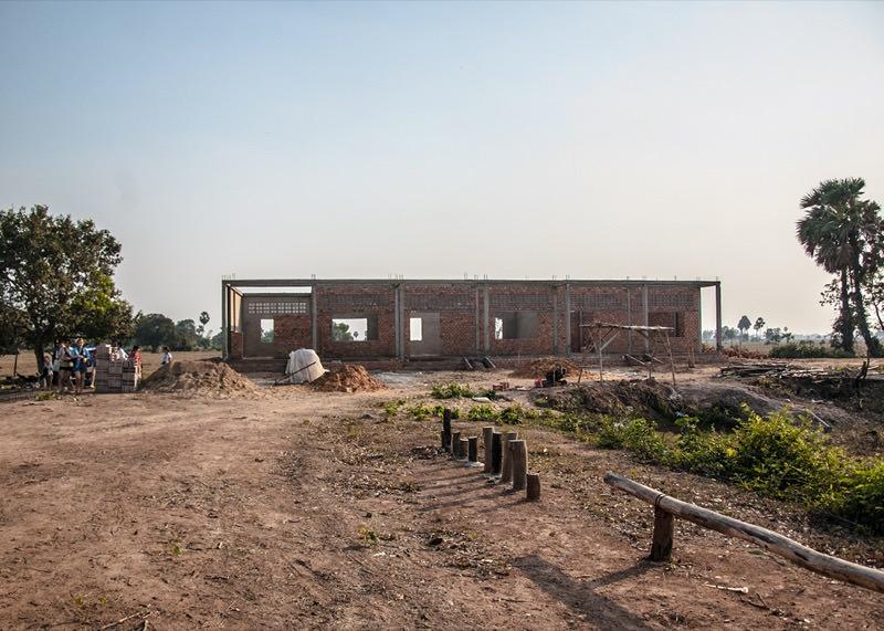 カンボジアの学校建設地64日目の記録