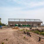 カンボジアの学校建設地82日目