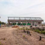 カンボジアの学校建設地83日目