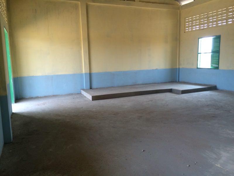 静かな校舎内