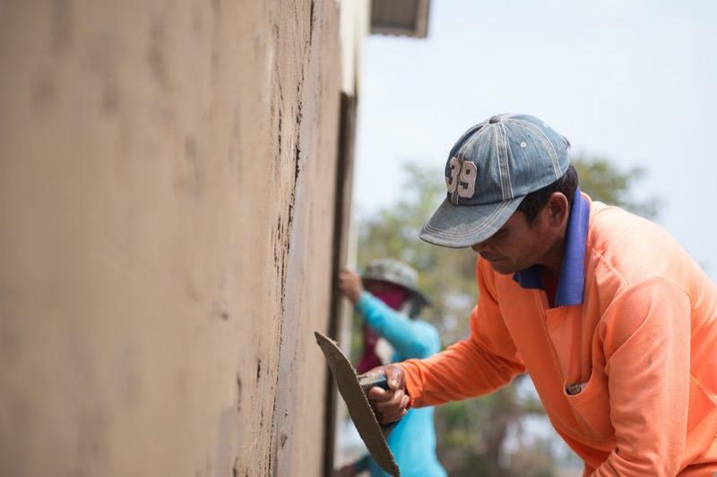 カンボジア人達の仕事