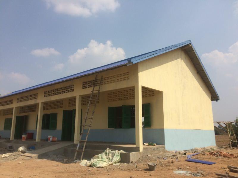 完成した校舎