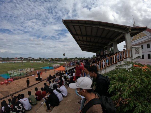 カンボジアのスタジアム