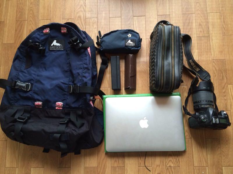 機内持ち込みの手荷物