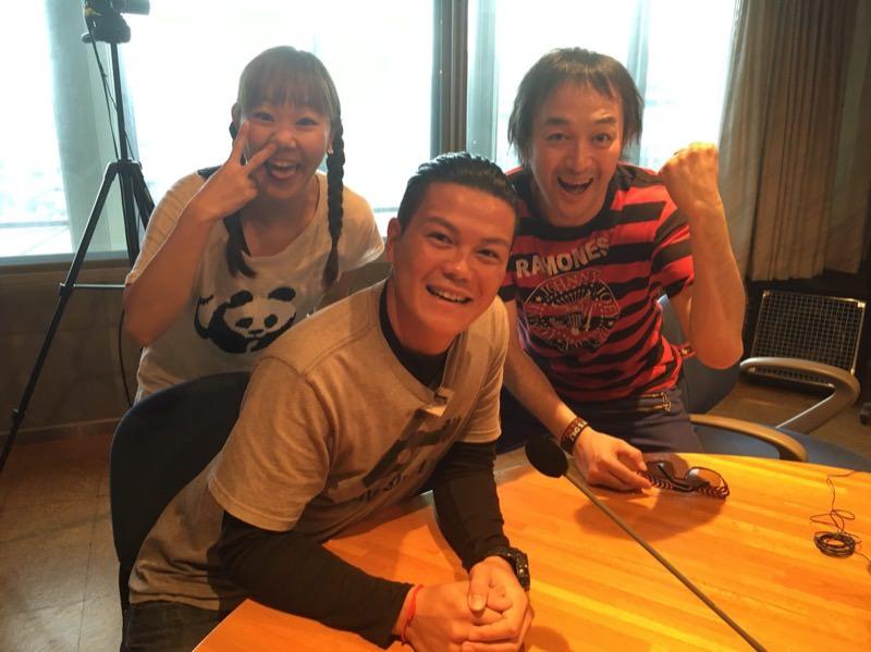 ラジオDJの勝山さんと寺田さん