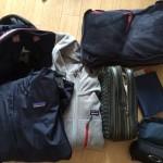 国内旅行一週間の荷物