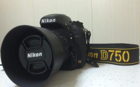 ニコンのフルサイズ一眼レフカメラD750