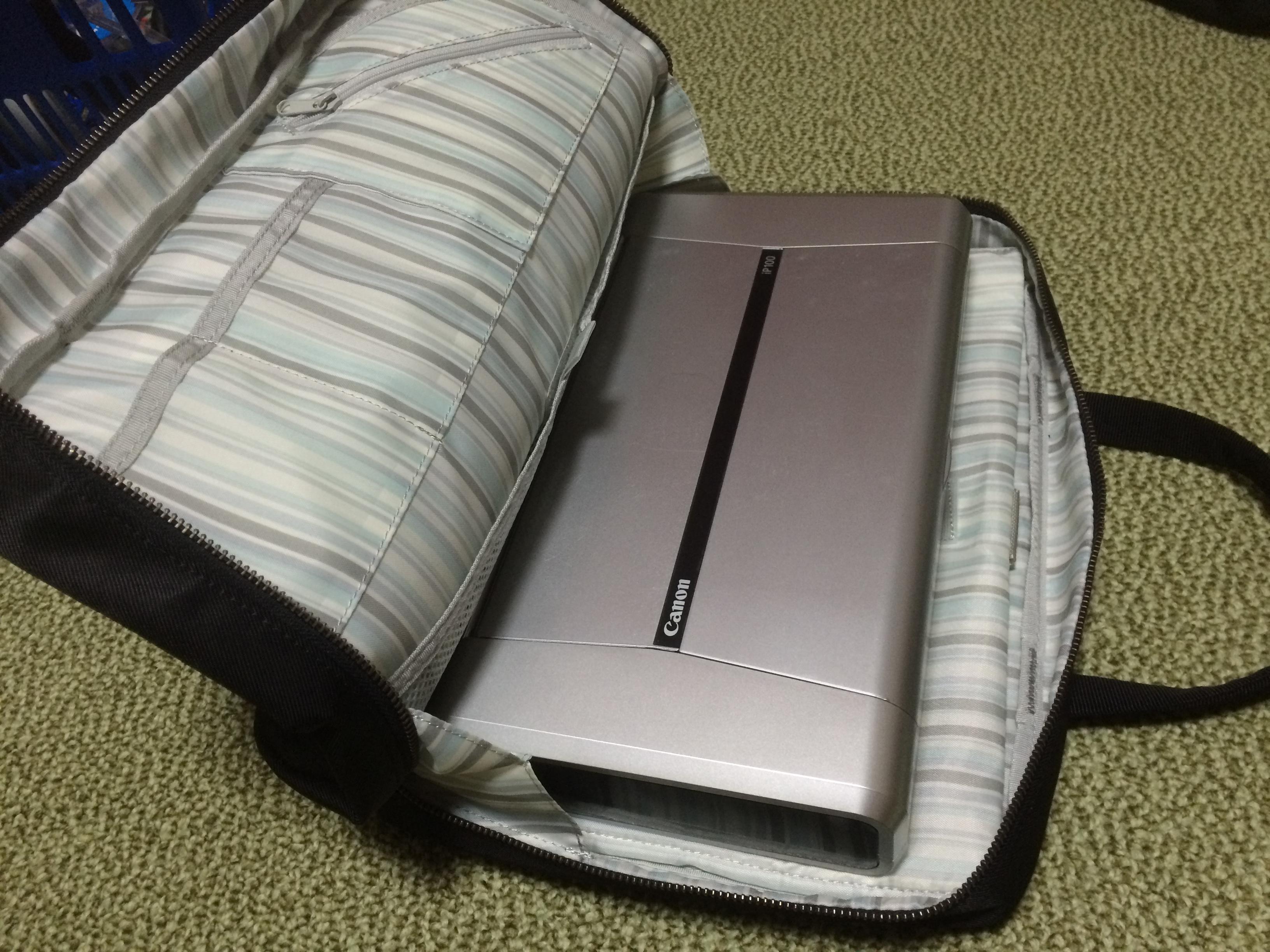 ちょっと変わった旅アイテム!モバイルプリンターCanonのiP100は写真好きな旅人にぴったり