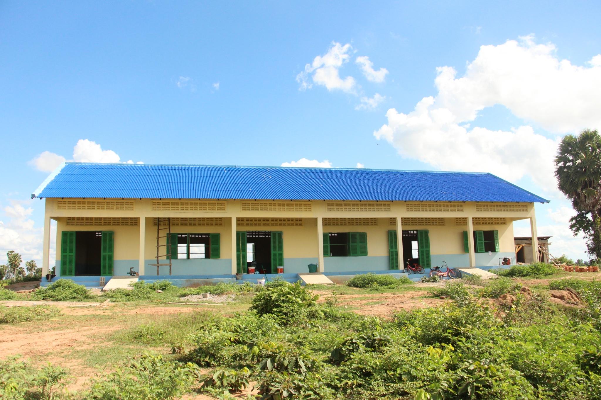 カンボジア小学校建設活動状況(2016年8月現在)