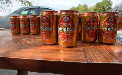 大量のアンコールビール