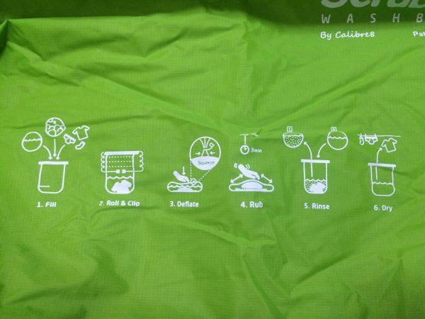 超便利な洗濯バケツ『スクラバウォッシュバッグ』の使い方