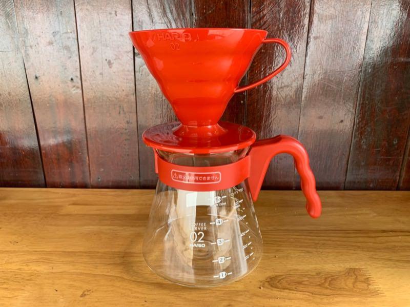 ハリオのV60コーヒーサーバーセット