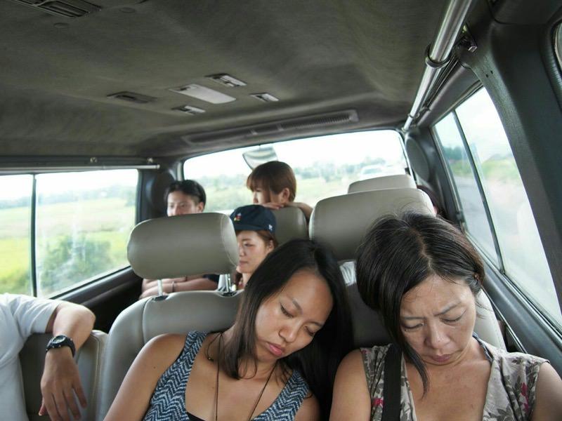 疲れている人たち