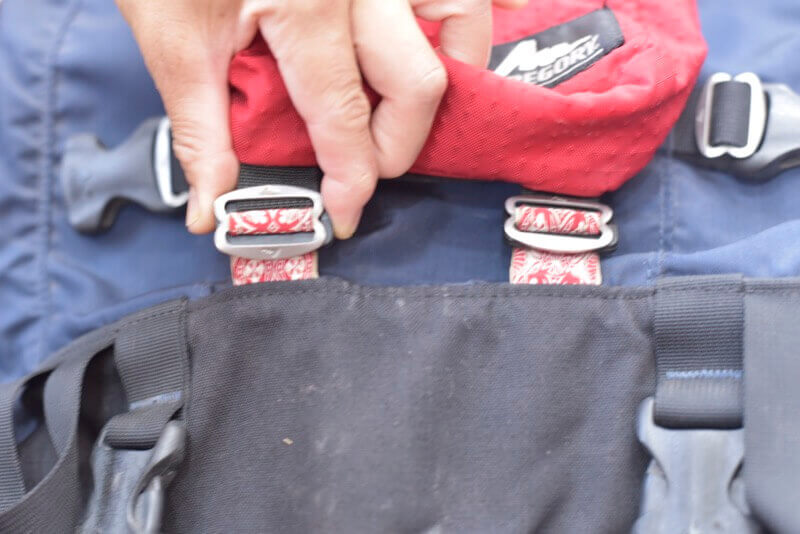 シングルポケットを完全に取り付けた