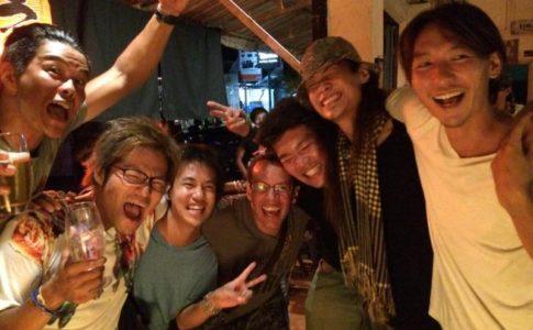 シェムリアップのラーメン屋「横浜」での楽しい夜