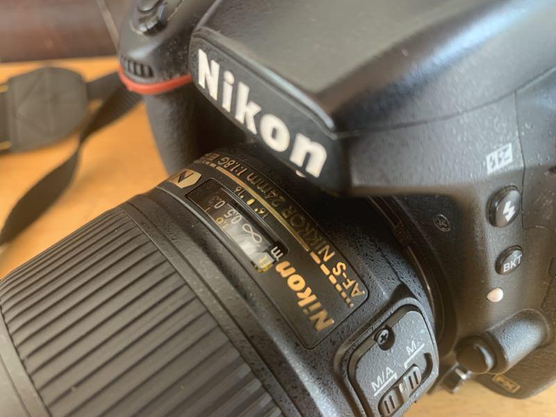 仕事で使っているカメラ