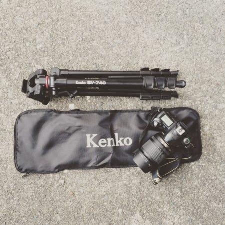 【amazonのほしいものリスト】Kenkoのカメラ用三脚をいただきました