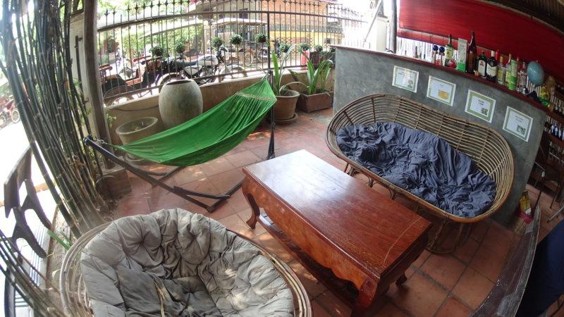 シティゲストハウスのソファ