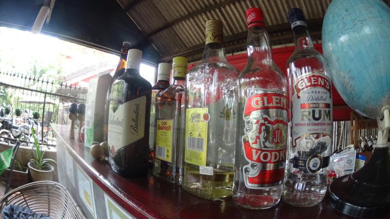シティプレミアムゲストハウスのバーで飲めるお酒