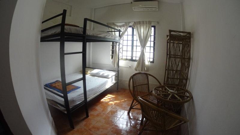 シティゲストハウスの二段ベッド
