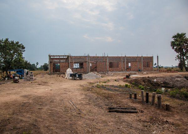【みらいスクール】カンボジア小学校建設42日目