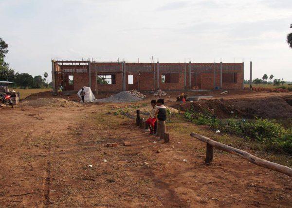 【みらいスクール】カンボジア小学校建設44日目