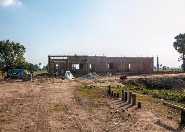 【みらいスクール】カンボジア小学校建設46日目