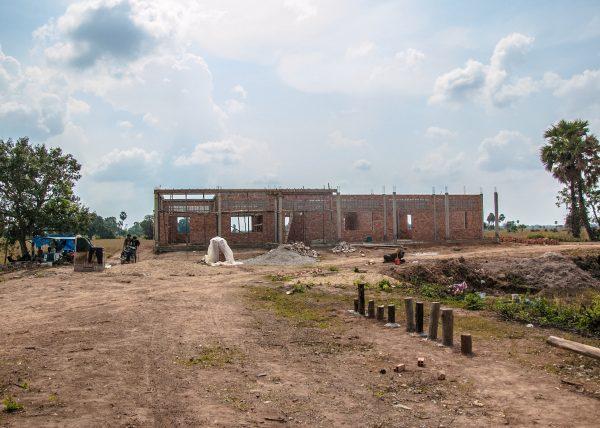 【みらいスクール】カンボジア小学校建設47日目