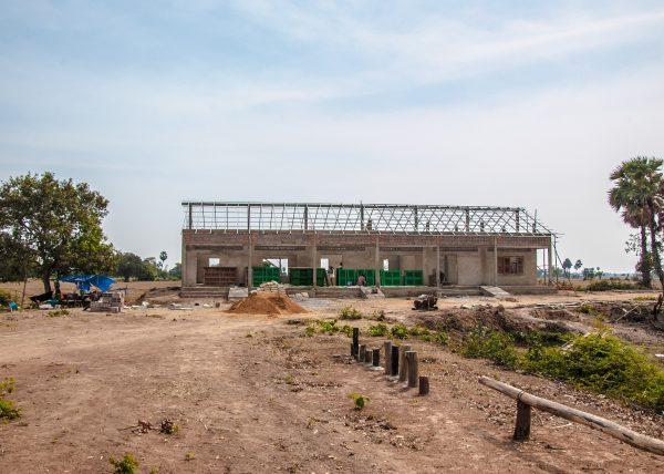 【みらいスクール】カンボジア小学校建設82日目