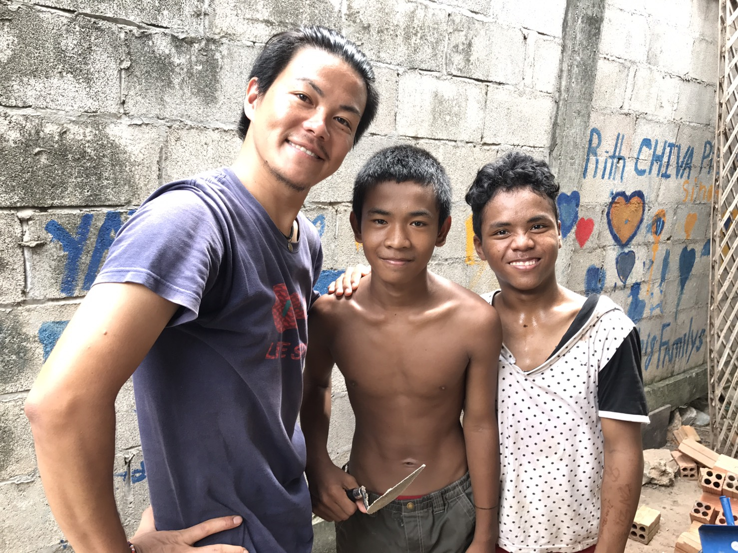 「カンボジアの子ども達の笑顔が見たい」とか「子ども達の選択肢を増やしたい」とかもういいよ