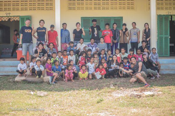 カンボジアのみらいスクール開校一周年を記念して