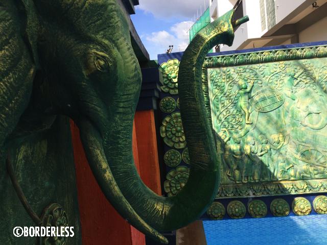 象の鼻の修復